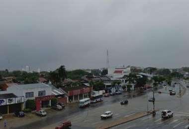 Las lluvias acompañarán a la cuarentena rígida de carnaval. Foto: El Deber