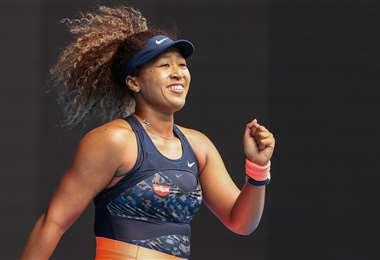Naomi Osaka, tenista japonesa que participa en el Abierto de Australia. Foto. AFP