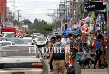 Las ciudadelas mantienen la normalidad pese a la cuarentena. Foto: Ricardo Montero