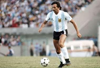 Leopoldo Jacinto Luque fue figura de la selección argentina. Foto: internet