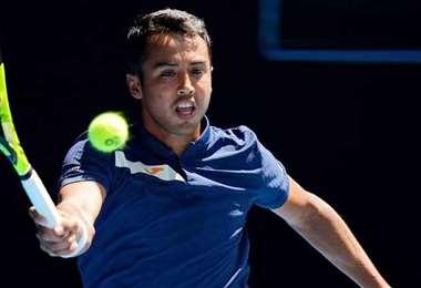 Hugo Dellien, tenista nacional que debutará este martes en Chile. Foto: internet
