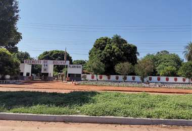 Base militar en San Matías