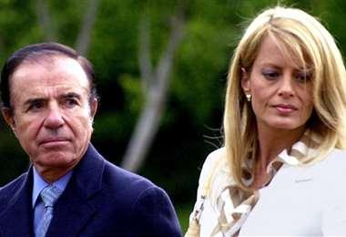 Carlos Menem y Cecilia Bolocco estuvieron casados durante siete años