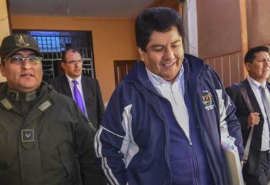 El exalcalde de El Alto I archivo.