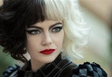 "Emma Stone en una escena de ""Cruella"""