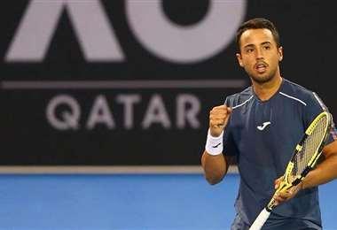 El beniano se encuentra en el puesto 112 del ranking ATP. Foto: Hugo Dellien
