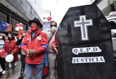 La marcha del candidato enmanillado I APG Noticias.