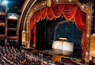 Escenario del teatro Dolby, donde tendrá lugar la entrega de los Óscar
