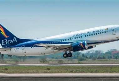 Un avión de BoA se dirige a India para traer 20 toneladas de medicamentos. Foto: Internet
