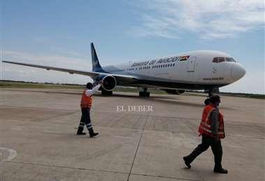 Avión de BoA/Juan Carlos Torrejón