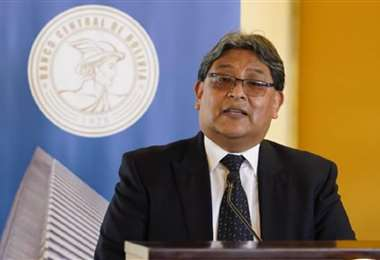 Edwin Rojas Ulo, titular del Banco Central de Bolivia