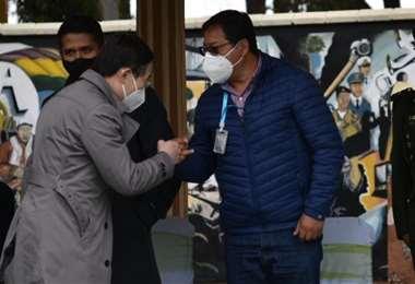 El Presidente no convocó a ningún diálogo a los médicos (Foto: APG Noticias)