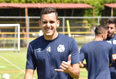 Luis Haquin, defensor nacional que jugará este año en Chile. Foto: internet
