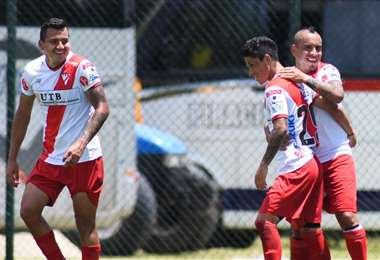 Ovejero celebrando el gol del empate. Foto: Always Ready