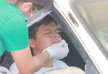 El próximo mes se cumplirá un año de la pandemia en Bolivia. Foto. Fuad Landívar