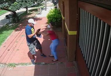 Captura de video de las cámaras de vigilancia
