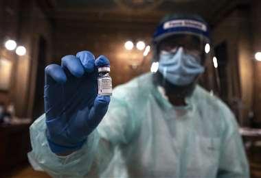 El estudio de la vacuna fue realizada en Israel. Foto AFP