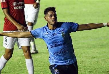 Carrasco logró consolidarse en Blooming. Foto: Facebook José María Carrasco