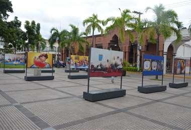 La Manzana 1 es un lugar de exposiciones culturales en Santa Cruz. Foto. Internet