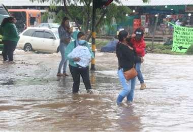 Piden a la población tener precaución en la ciudad. Foto: Juan C. Torrejón