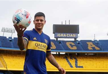 Marcos Rojo firmó para Boca Juniors. Foto: Club Boca Juniors