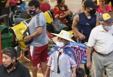 Santa Cruz es el departamento más afectado por el virus. Foto. Jorge Ibáñez