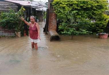 Los vecinos sufren las consecuencias del temporal