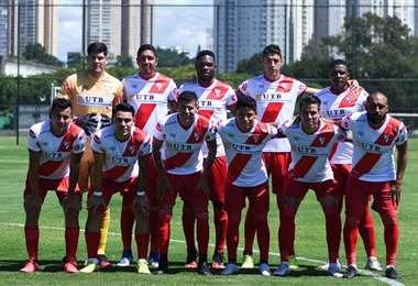 Los jugadores de Always durante el partido amistoso frente a Cruzeiro. Foto: Always Ready