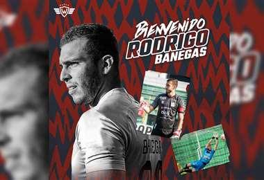 Rodrigo Banegas, nuevo refuerzo de Wilstermann. Foto: Wilstermann