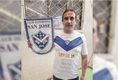 Rivero renunció a la presidencia de San José. Foto: Archivo / APG Noticias