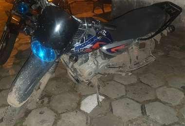 Moto recuperada por Diprove