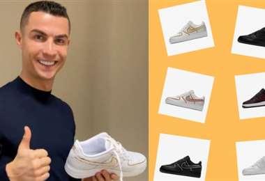 Cristiano Ronaldo creó los zapatos que pueden personalizarse con múltiples variables