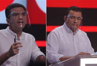Áñez y Fernández hicieron saltar chispas en el debate