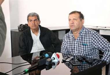 Milton Melgar y David Paniagua, representantes de Fabol. Foto: Internet