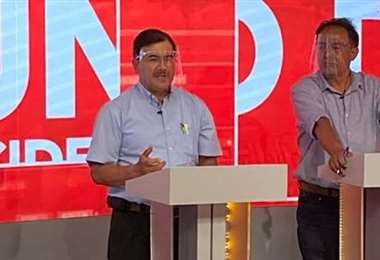 Los dos candidatos más votados de Cochabamba (Foto: RRSS)