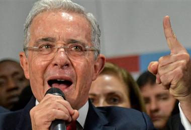 Álvaro Uribe ex presidente colombiano