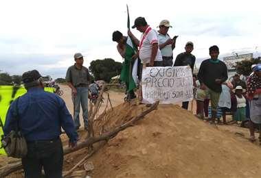 Los productores bloquearan caminos de zonas productoras