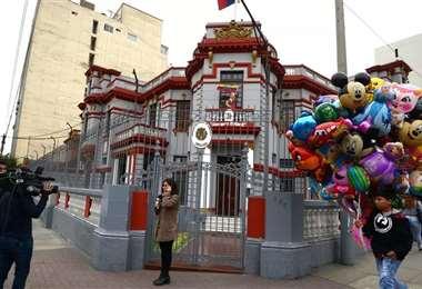 Embajada de Venezuela en Lima. Foto. Internet