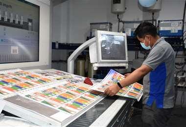 14.5 millones de papeletas electorales se utilizarán el 7 de marzo. Foto:TSE