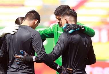 Carlos Lampe, arquero de Always Ready encabeza la lista. Foto: Prensa FBF