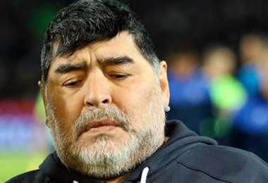 Maradona murió el 25 de noviembre de 2020. Foto: Internet