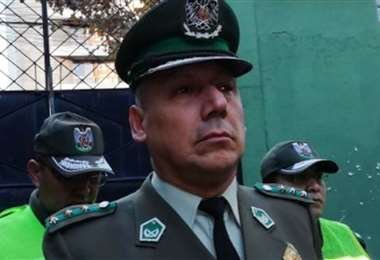 El excomandante policial de Cochabamba I internet.