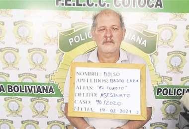 El brasileño Dilso Basto Lara fue condenado a 30 años de cárcel