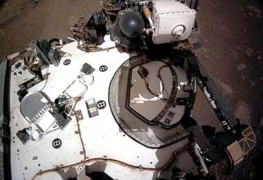 Imágenes enviadas por el Perseverance desde Marte/Foto: AFP