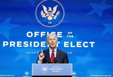 Biden anunció la ayuda el pasado 19 de febrero