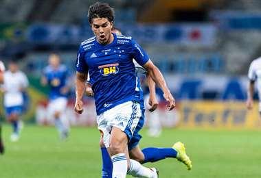 Martins defendiendo los colores del Cruzeiro. Foto: Bola pra Frente