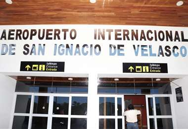 Aeropuerto Internacional de San Ignacio de Velasco