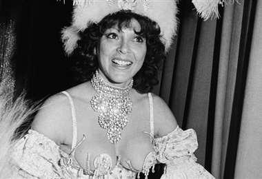 """Era conocida como """"la bomba argentina"""" en el ambiente de los cabarets de Washington"""