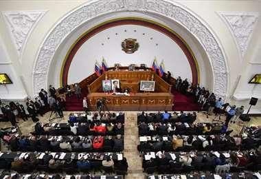 El Parlamento venezolano que controla el chavismo