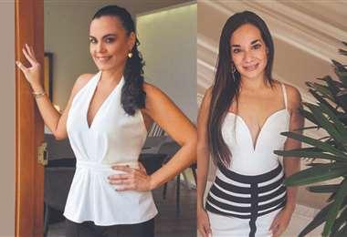Ariadna Gil y Michelle Álvarez